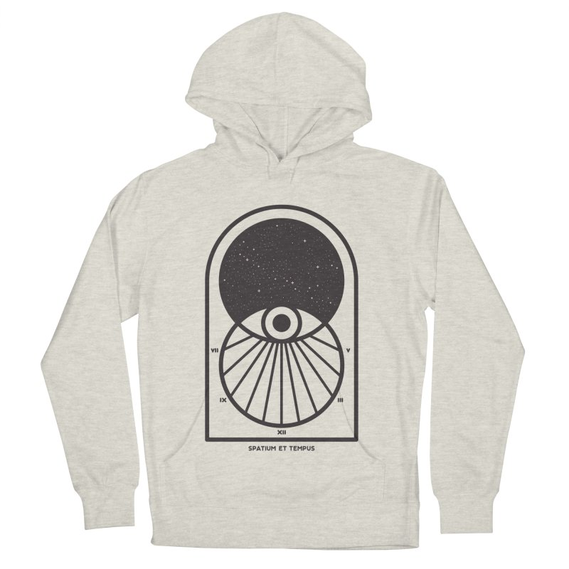 Space and Time Men's French Terry Pullover Hoody by thepapercrane's shop