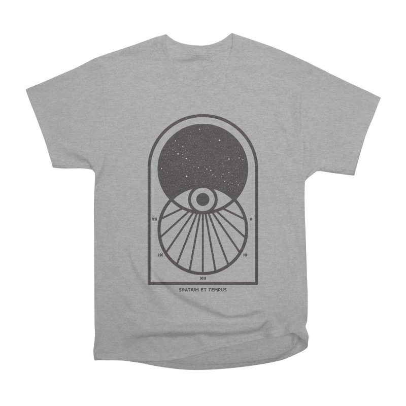 Space and Time Men's Heavyweight T-Shirt by thepapercrane's shop