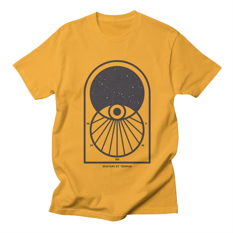 Space and Time Men's Regular T-Shirt by thepapercrane's shop