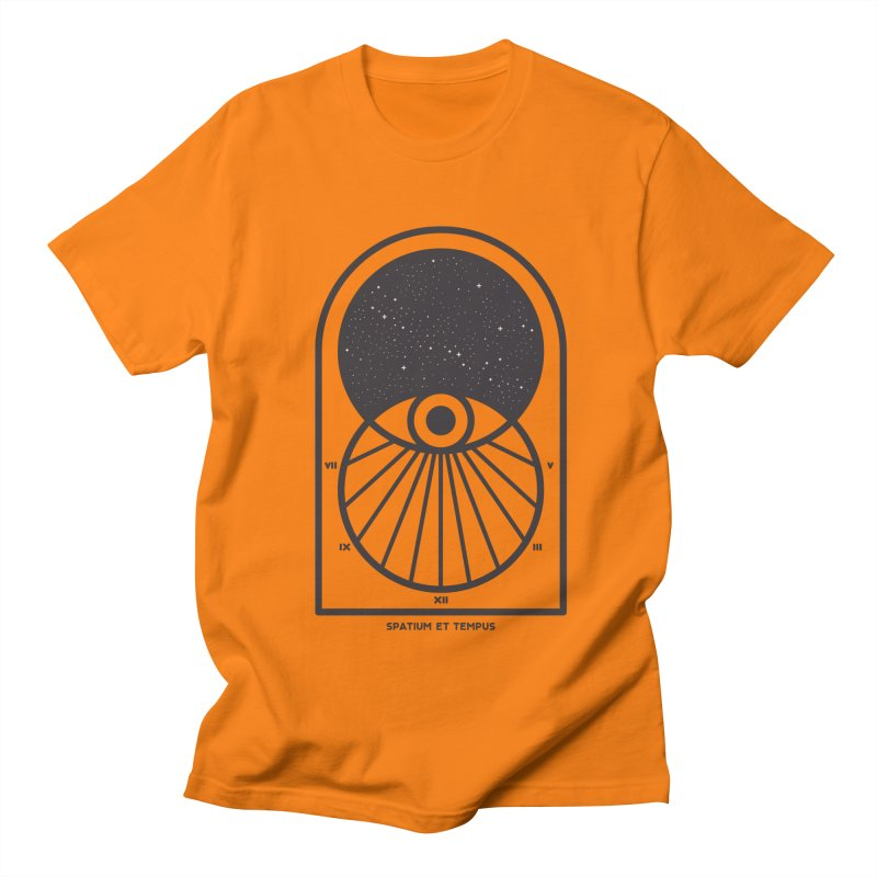 Space and Time Women's Regular Unisex T-Shirt by thepapercrane's shop