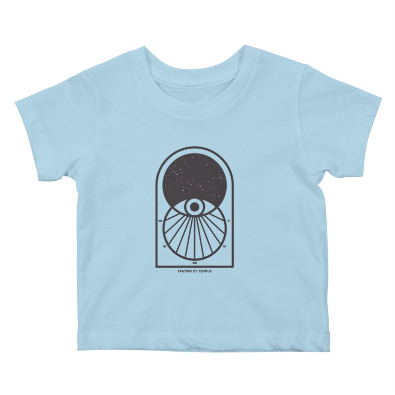 Space and Time Kids Baby T-Shirt by thepapercrane's shop