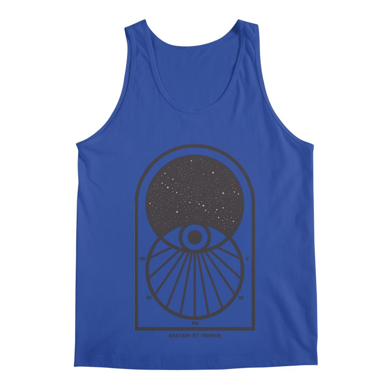 Space and Time Men's Regular Tank by thepapercrane's shop