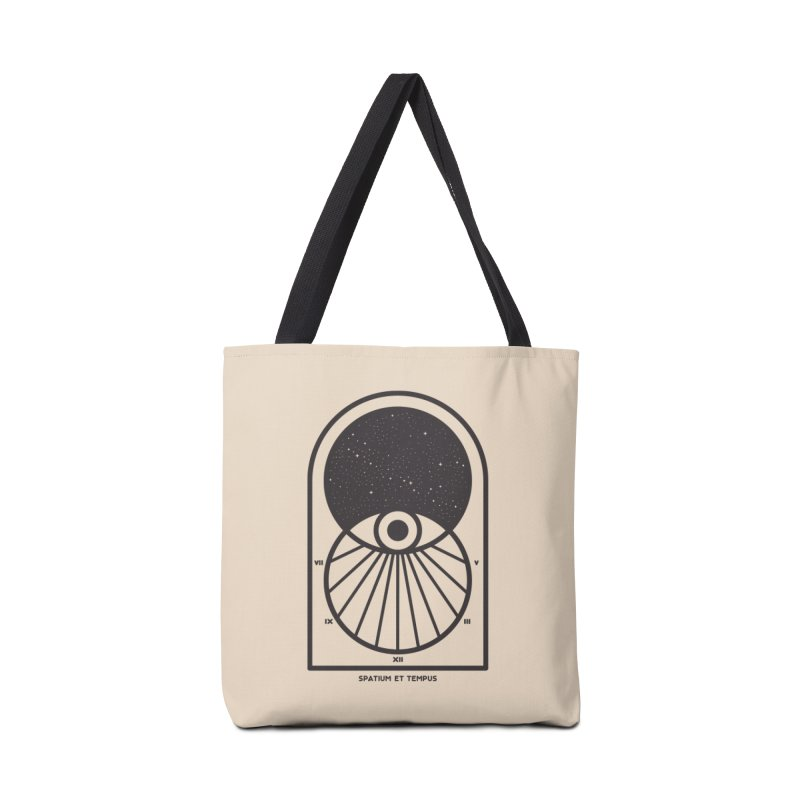 Space and Time Accessories Tote Bag Bag by thepapercrane's shop