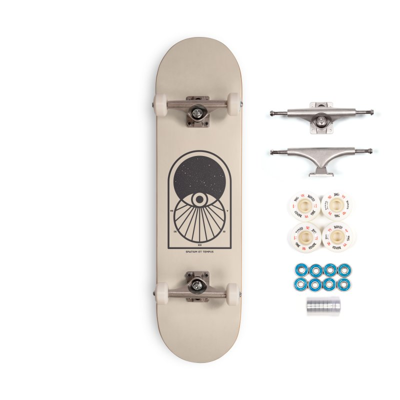 Space and Time Accessories Complete - Premium Skateboard by thepapercrane's shop