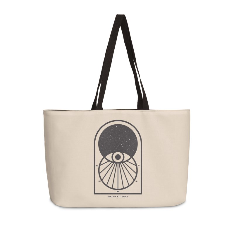 Space and Time Accessories Weekender Bag Bag by thepapercrane's shop