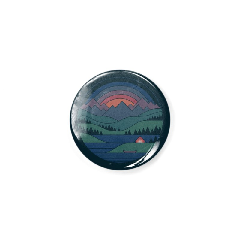 The Lake At Twilight Accessories Button by thepapercrane's shop