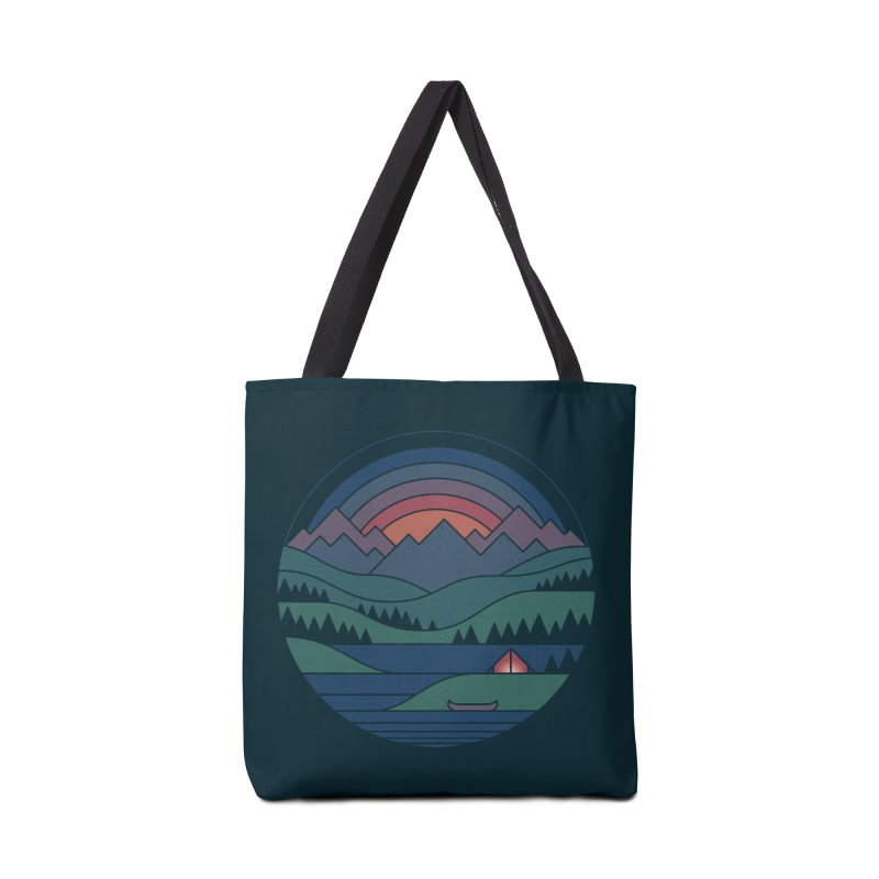 The Lake At Twilight Accessories Tote Bag Bag by thepapercrane's shop