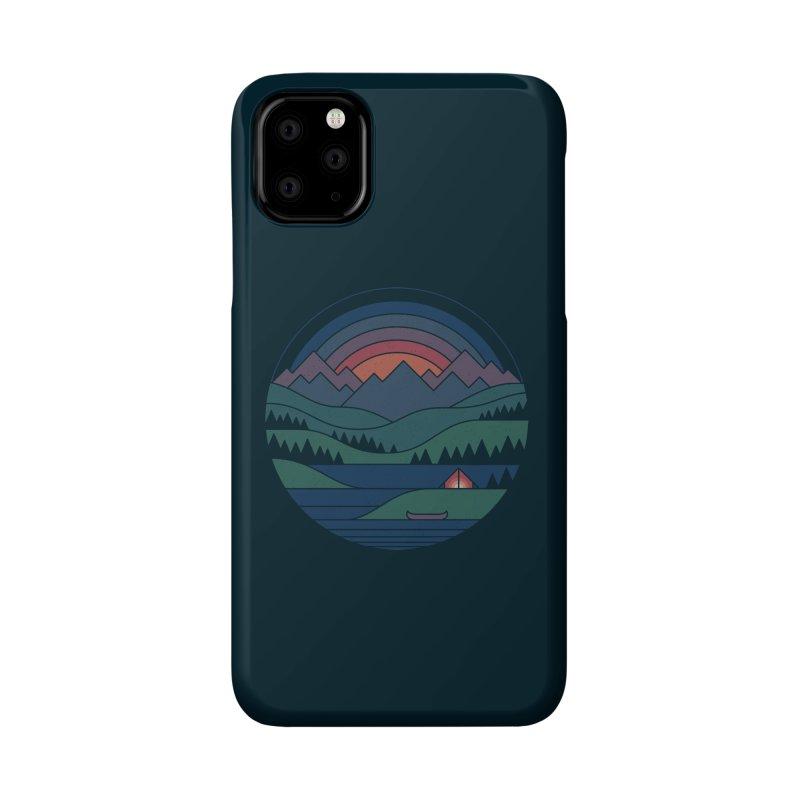 The Lake At Twilight Accessories Phone Case by thepapercrane's shop