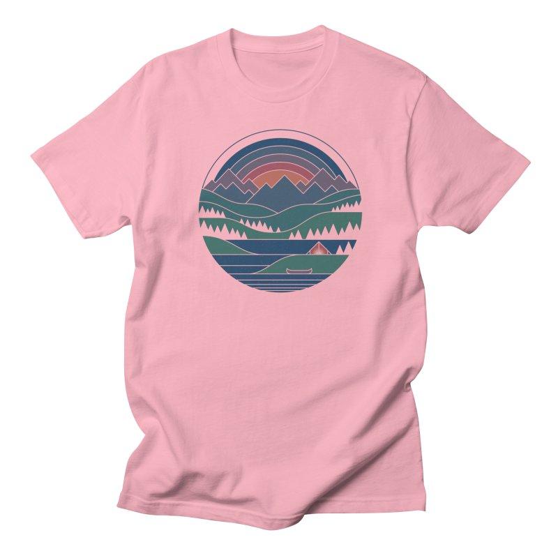 The Lake At Twilight Women's Regular Unisex T-Shirt by thepapercrane's shop
