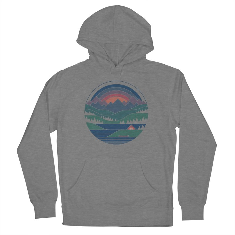 The Lake At Twilight Women's Pullover Hoody by thepapercrane's shop