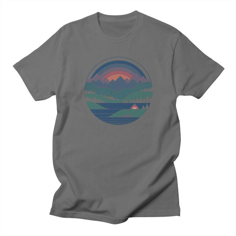 The Lake At Twilight Men's T-Shirt by thepapercrane's shop