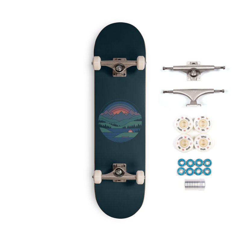 The Lake At Twilight Accessories Complete - Premium Skateboard by thepapercrane's shop