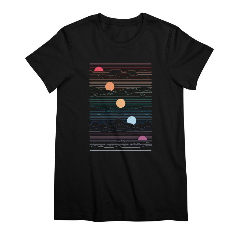 Many Lands Under One Sun Women's Premium T-Shirt by thepapercrane's shop