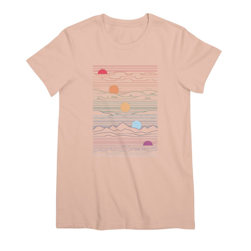 Many Lands Under One Sun Women's Premium T-Shirt by thepapercrane's shop