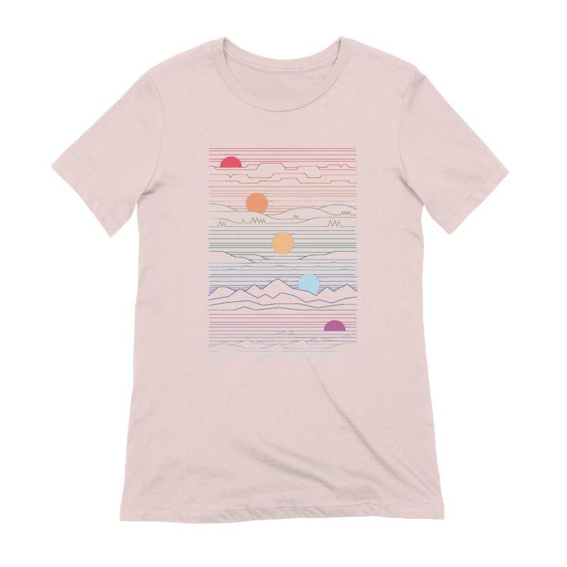 Many Lands Under One Sun Women's Extra Soft T-Shirt by thepapercrane's shop