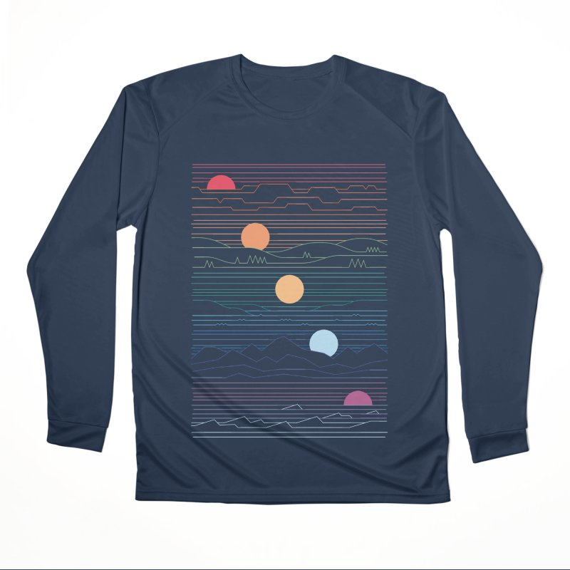 Many Lands Under One Sun Men's Performance Longsleeve T-Shirt by thepapercrane's shop