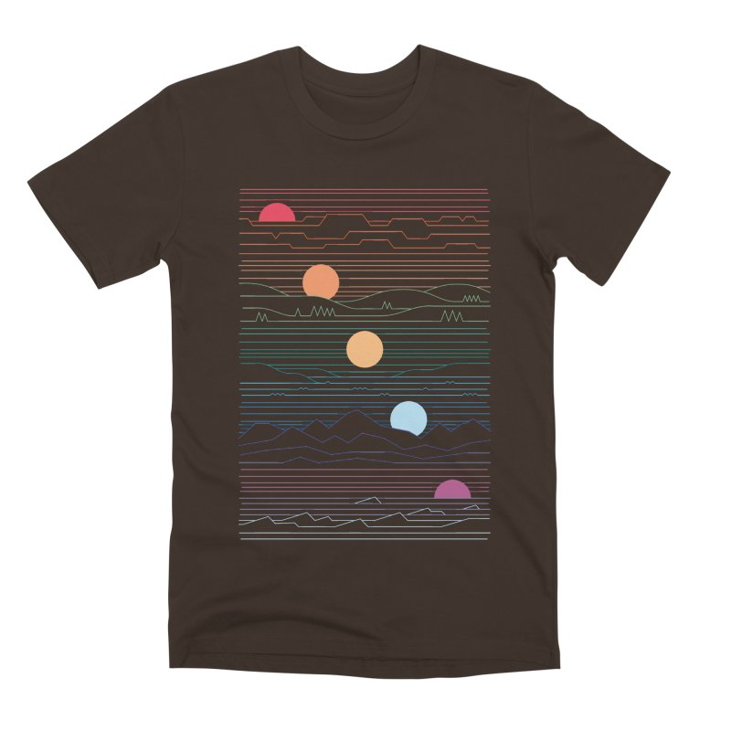 Many Lands Under One Sun Men's Premium T-Shirt by thepapercrane's shop
