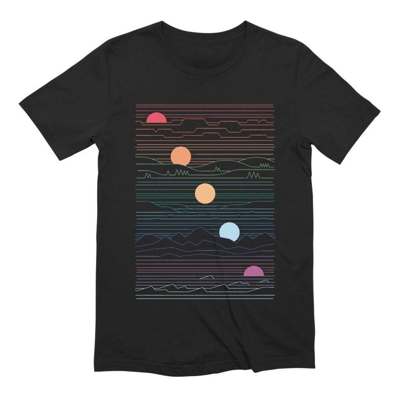 Many Lands Under One Sun Men's Extra Soft T-Shirt by thepapercrane's shop