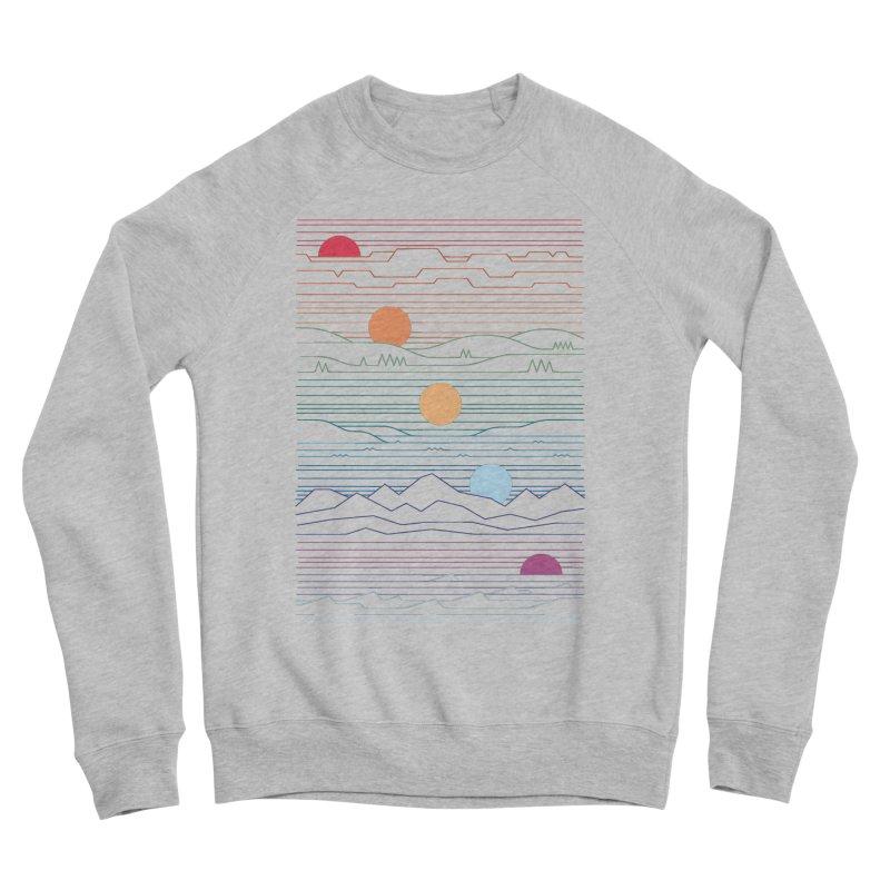Many Lands Under One Sun Men's Sponge Fleece Sweatshirt by thepapercrane's shop