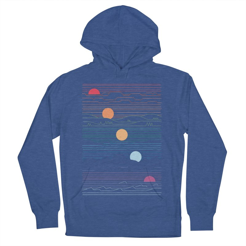 Many Lands Under One Sun Women's French Terry Pullover Hoody by thepapercrane's shop