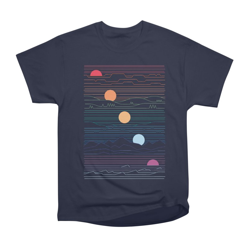 Many Lands Under One Sun Men's Heavyweight T-Shirt by thepapercrane's shop