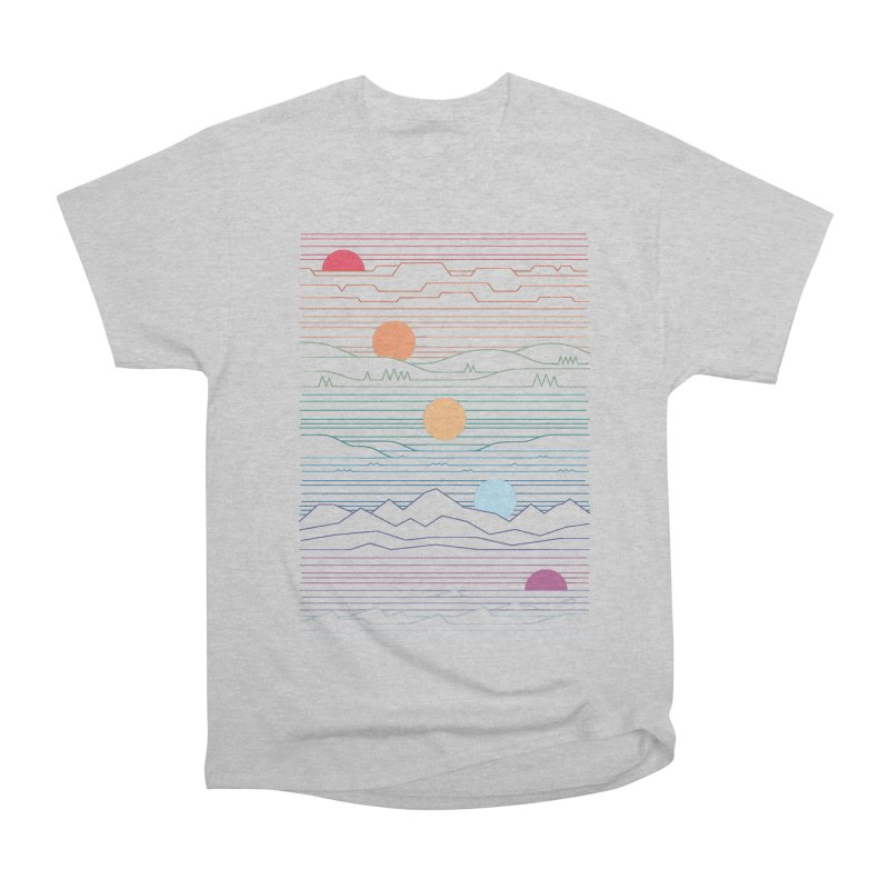 Many Lands Under One Sun Women's Heavyweight Unisex T-Shirt by thepapercrane's shop