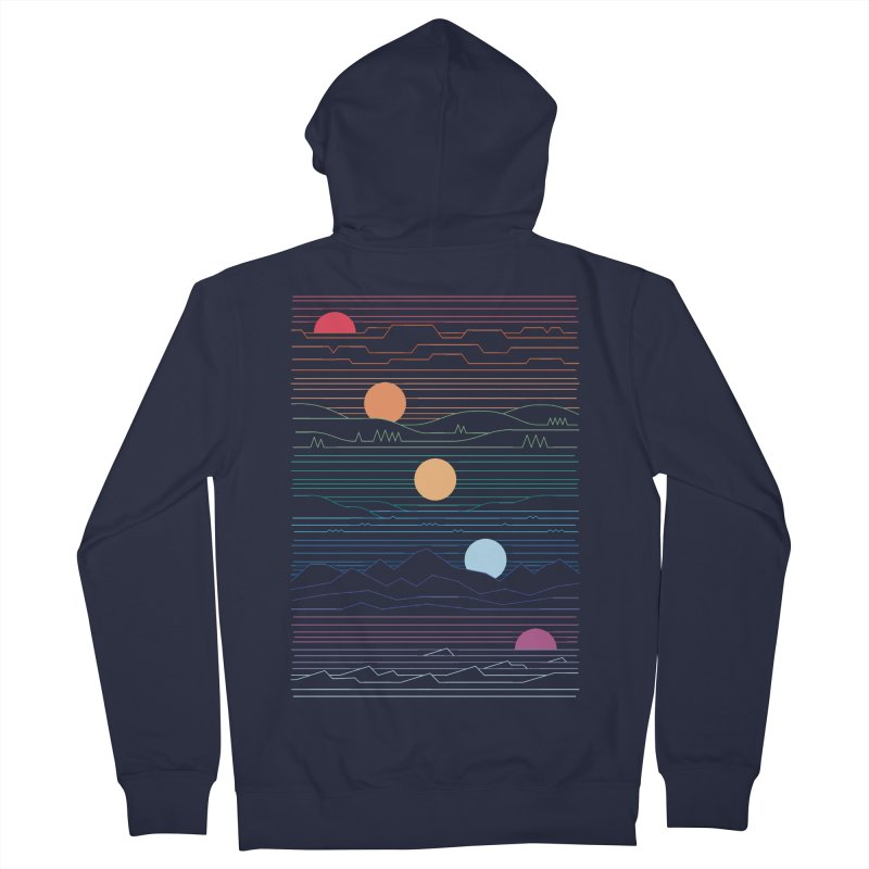 Many Lands Under One Sun Women's French Terry Zip-Up Hoody by thepapercrane's shop