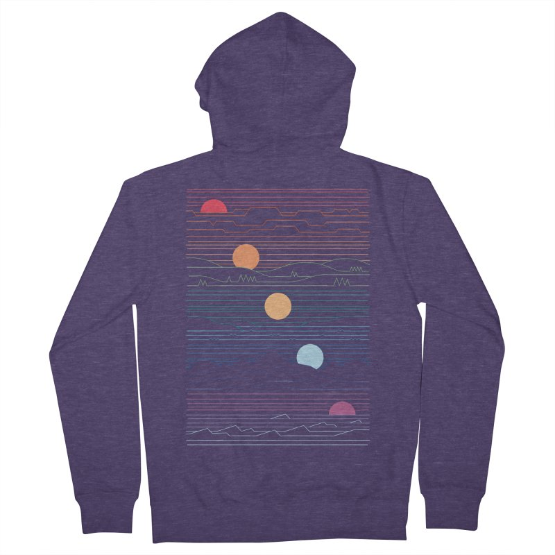 Many Lands Under One Sun Men's French Terry Zip-Up Hoody by thepapercrane's shop