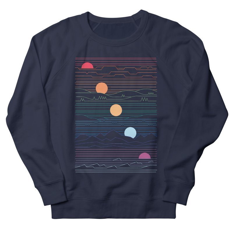 Many Lands Under One Sun Women's French Terry Sweatshirt by thepapercrane's shop