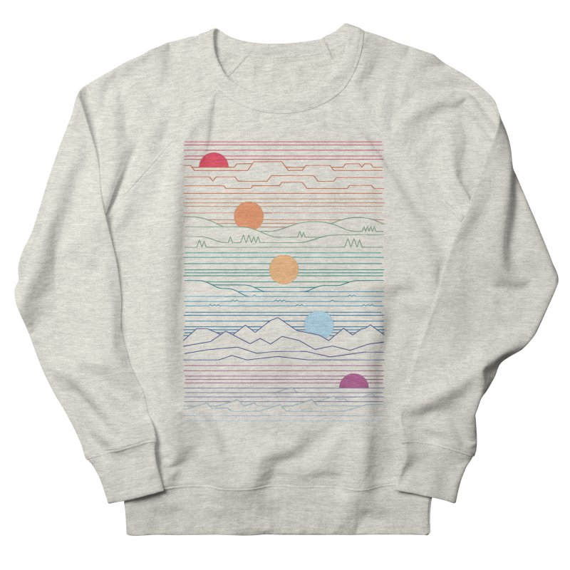 Many Lands Under One Sun Men's French Terry Sweatshirt by thepapercrane's shop