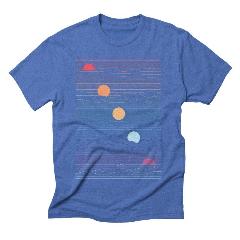 Many Lands Under One Sun Men's Triblend T-Shirt by thepapercrane's shop