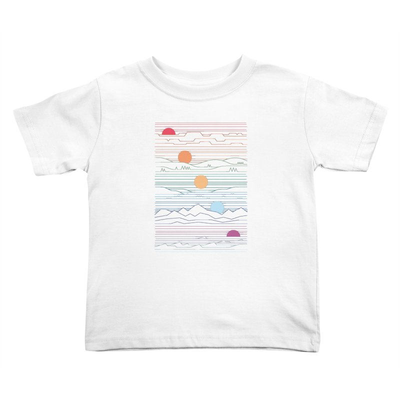 Many Lands Under One Sun Kids Toddler T-Shirt by thepapercrane's shop