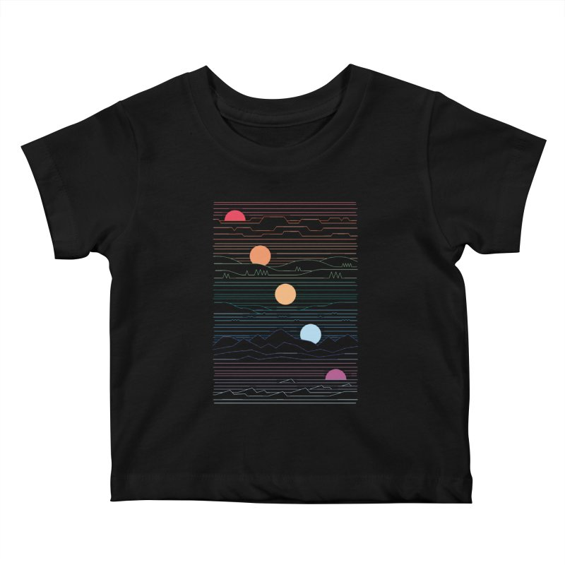 Many Lands Under One Sun Kids Baby T-Shirt by thepapercrane's shop