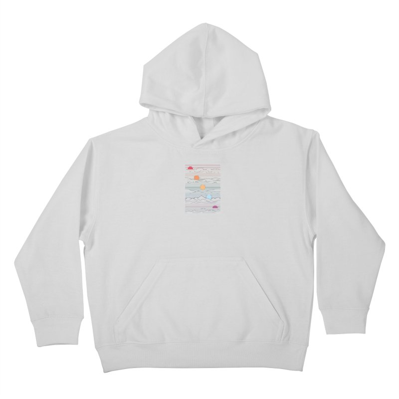 Many Lands Under One Sun Kids Pullover Hoody by thepapercrane's shop