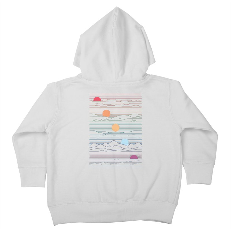 Many Lands Under One Sun Kids Toddler Zip-Up Hoody by thepapercrane's shop