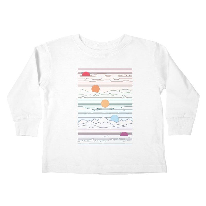 Many Lands Under One Sun Kids Toddler Longsleeve T-Shirt by thepapercrane's shop
