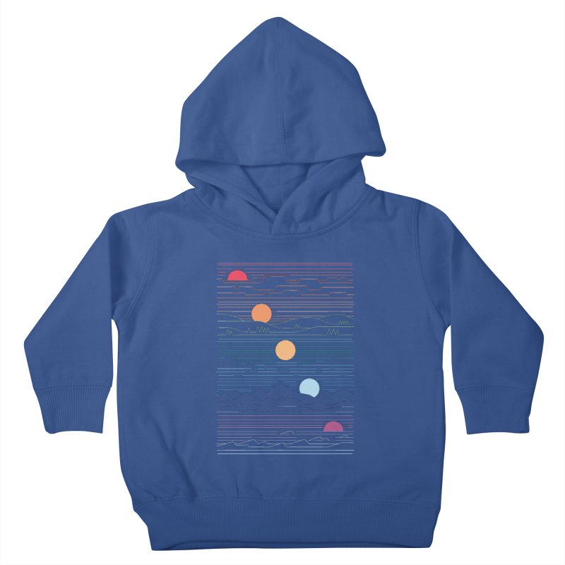 Many Lands Under One Sun Kids Toddler Pullover Hoody by thepapercrane's shop