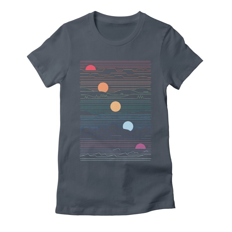 Many Lands Under One Sun Women's T-Shirt by thepapercrane's shop