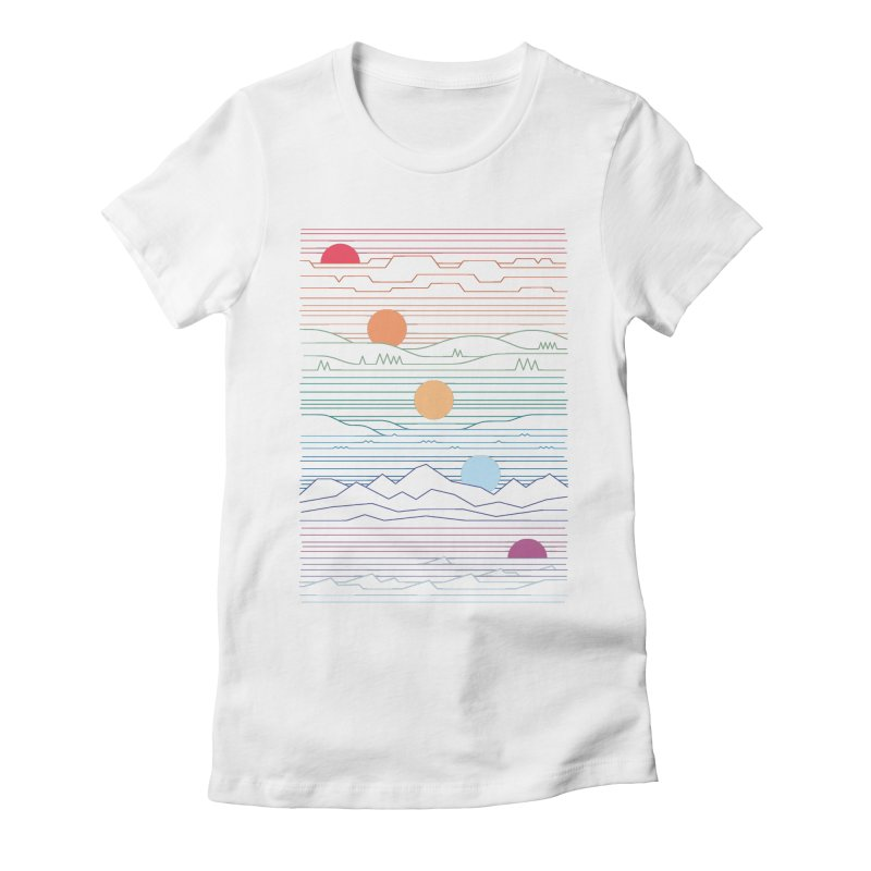 Many Lands Under One Sun Women's Fitted T-Shirt by thepapercrane's shop
