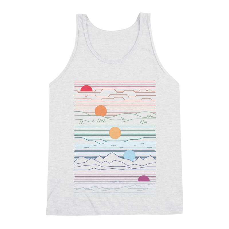Many Lands Under One Sun Men's Triblend Tank by thepapercrane's shop
