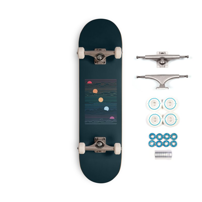 Many Lands Under One Sun Accessories Complete - Basic Skateboard by thepapercrane's shop