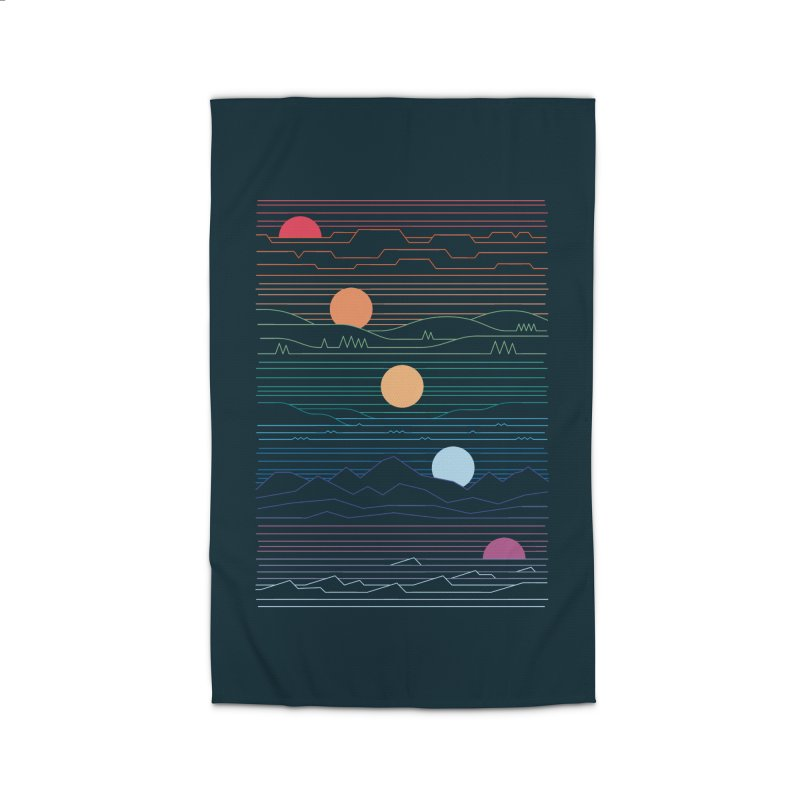 Many Lands Under One Sun Home Rug by thepapercrane's shop