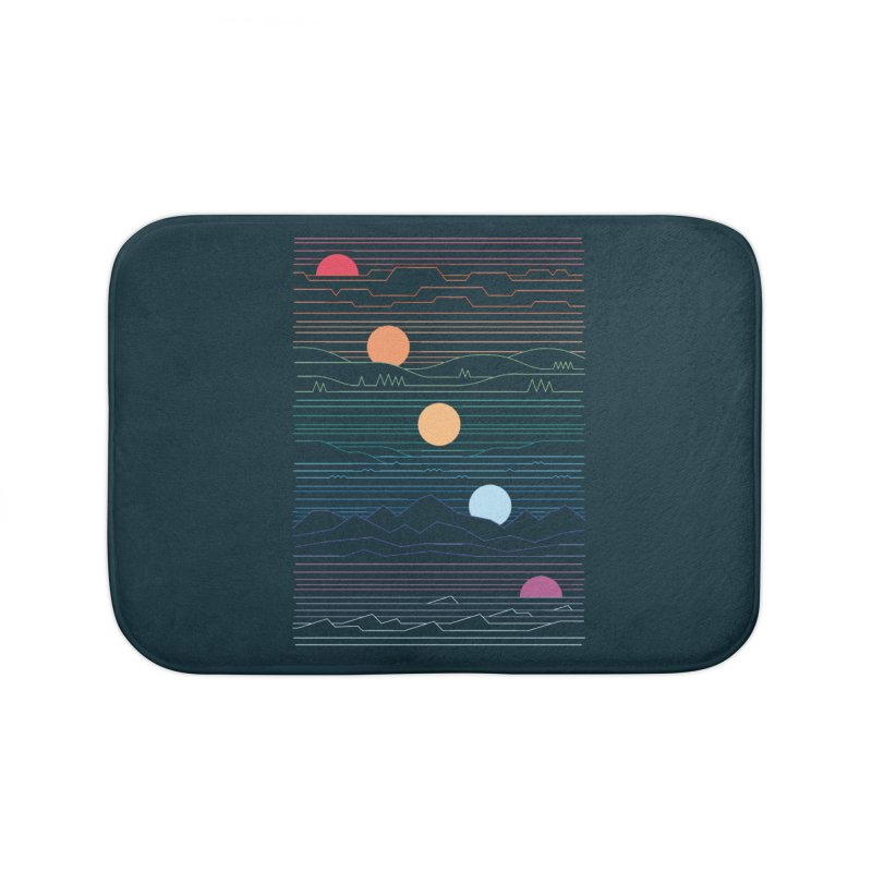 Many Lands Under One Sun Home Bath Mat by thepapercrane's shop