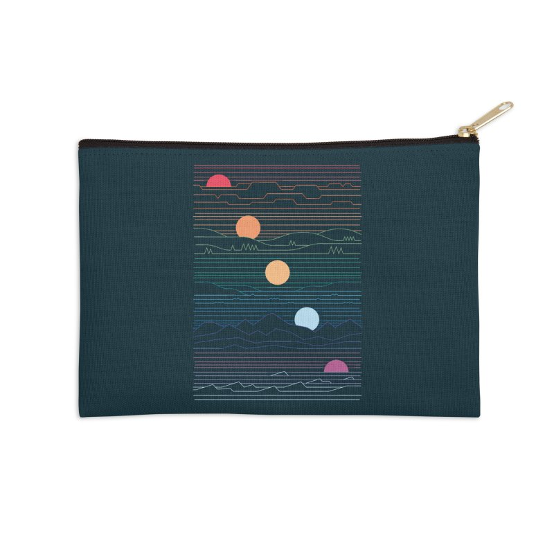 Many Lands Under One Sun Accessories Zip Pouch by thepapercrane's shop