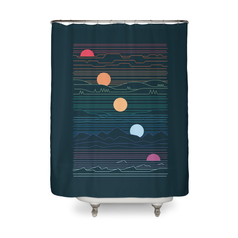 Many Lands Under One Sun Home Shower Curtain by thepapercrane's shop