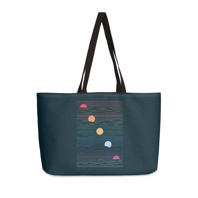 Many Lands Under One Sun Accessories Weekender Bag Bag by thepapercrane's shop