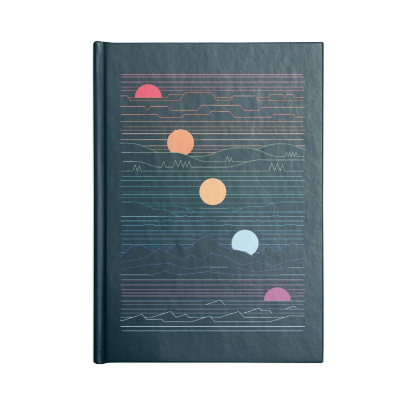 Many Lands Under One Sun Accessories Lined Journal Notebook by thepapercrane's shop