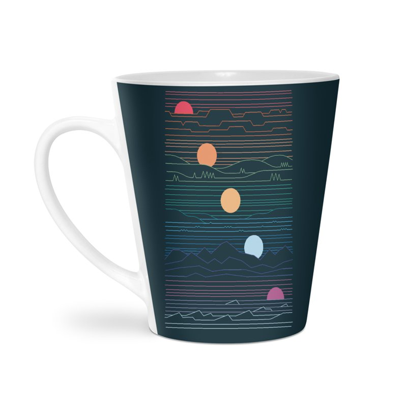 Many Lands Under One Sun Accessories Latte Mug by thepapercrane's shop