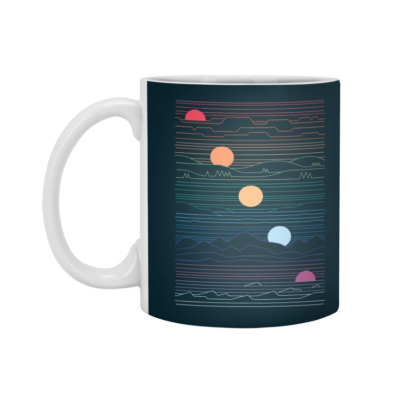 Many Lands Under One Sun Accessories Standard Mug by thepapercrane's shop