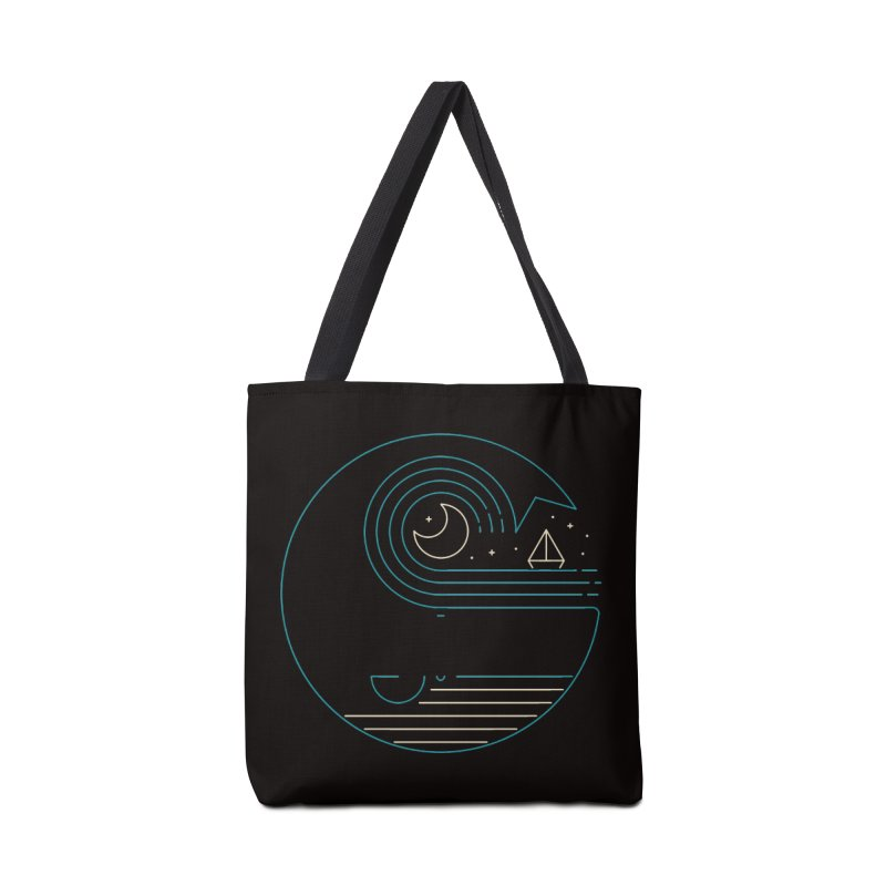 Moonlight Companions Accessories Tote Bag Bag by thepapercrane's shop